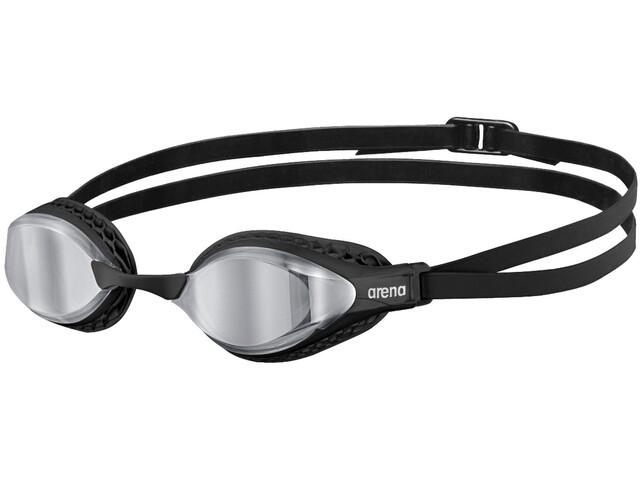 arena Airspeed Mirror Schwimmbrille silver/black